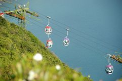 Cable Car Hong Kong Ocean Park Royalty Free Stock Images