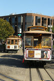 Cable car at Hyde and Beach Terminal in San Francisco Stock Photography
