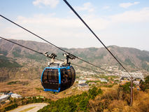 Cable car in Japan Royalty Free Stock Photography