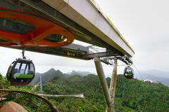 Cable Car_Langkawi Stock Photo
