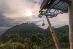 Cable Car Langkawi Stock Image