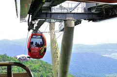 Cable Car in Langkawi Island Royalty Free Stock Photos