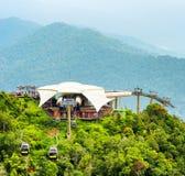 Cable car on Langkawi Island, Malaysia Stock Photos