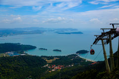 Cable Car at Langkawi Island Stock Photo