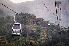 CABLE CAR IN LANGKAWI Royalty Free Stock Image