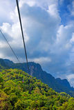 Cable Car Langkawi Royalty Free Stock Images