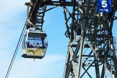 Cable car on Lantau Island Hong Kong Royalty Free Stock Images