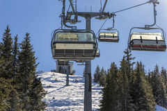 Cable car or lift Stock Images