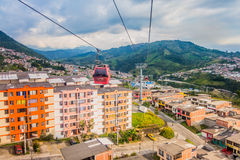Cable car in Manizales, Colombia Stock Photos