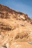 Cable car at Masada Stock Image
