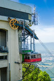 Cable car and mechanism Stock Image