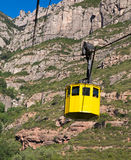 Cable car, Montserrat, Catalunya, Spain Royalty Free Stock Photo