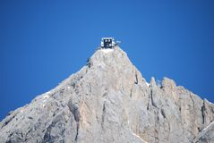 Cable car mountain station on Dachstein Stock Photography