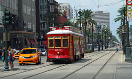 Cable Car in New Orleans Stock Image