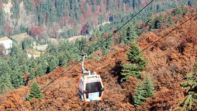 Cable car stock video