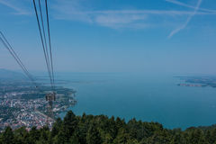 Cable Car at the Pfänder, Austria Stock Photography
