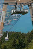 Cable Car at the Pfander, Austria Royalty Free Stock Photography