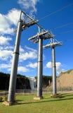 Cable Car Pillars Stock Photos
