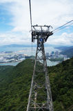Cable Car and pole Royalty Free Stock Photo