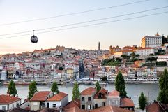 Cable car of Porto Royalty Free Stock Photography