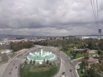 Cable car of Puebla - Mexico royalty free stock image
