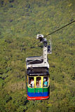 Cable Car in Puerto Plata Royalty Free Stock Photography