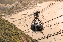Cable car in Rio de Stock Image