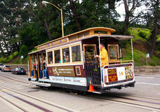 Cable-car in San Francisco Royalty Free Stock Image