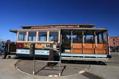Cable car,San Francisco royalty free stock photos