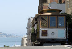 Cable Car in San Francisco. Famous Cable Car in San Francisco California stock photos