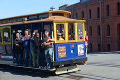 Cable Car in San Francisco, California Royalty Free Stock Photo