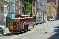 Cable Car in San Francisco, California Stock Photography