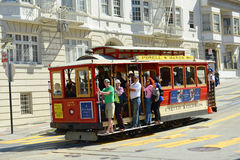 Cable Car in San Francisco, California Stock Image