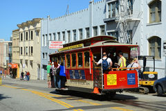 Cable Car in San Francisco, California Royalty Free Stock Photography