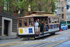 Cable Car in San Francisco, California Stock Photo