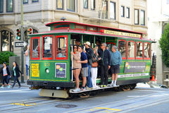 Cable Car in San Francisco, California Royalty Free Stock Image