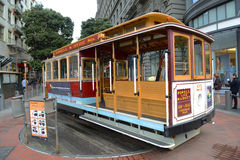 Cable Car in San Francisco, California Stock Images