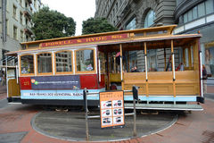 Cable Car in San Francisco, California Royalty Free Stock Photos