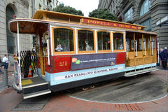 Cable Car in San Francisco, California Royalty Free Stock Images