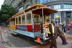 Cable Car in San Francisco, California Stock Photo