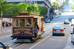Cable Car in San Francisco, California Stock Photography