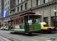 Cable Car in San Francisco. California, USA stock images