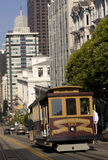 Cable Car in San Francisco. California, USA stock photos
