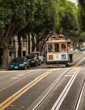 Cable car in San Francisco. The famous Cable car in San Francisco stock photography