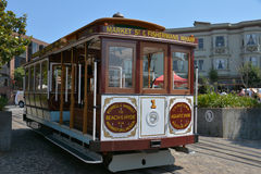 Cable Car San Francisco. Iconic San Francisco Cable Car royalty free stock photo