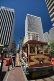 Cable Car in San Francisco, California USA. Cable Car in San Francisco from May 2, 2017, California USA stock images