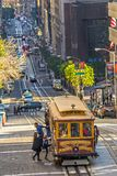 Cable Car in San Francisco, USA Royalty Free Stock Photo