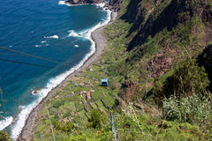 Cable car in Santana, Madeira Stock Photo