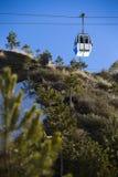 Cable car in ski Resort Sierra Nevada Stock Image