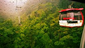 in cable car Royalty Free Stock Photography